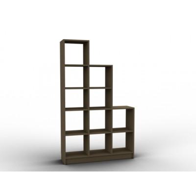 Etagère claustra en bois
