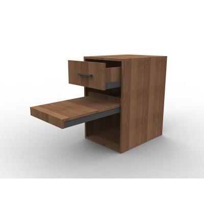Meuble à tiroir et tablette coulissante sur mesure, collection Working