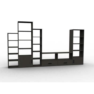Bibliothèque meuble TV rangements sur mesure